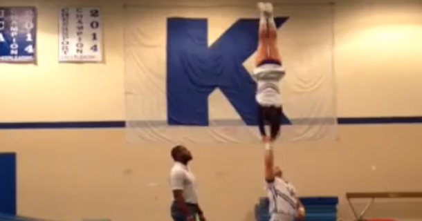 University Of Kentucky Cheerleaders 'Bring It On' In Jaw-Droppingly Impressive Stunt Routine